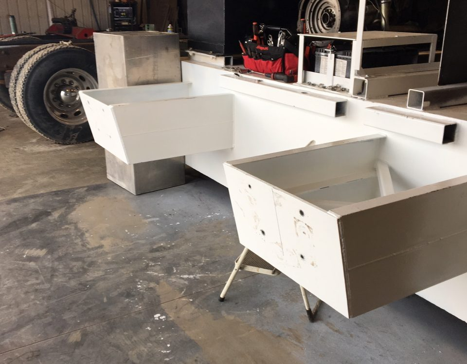 Transom Ready for Engines