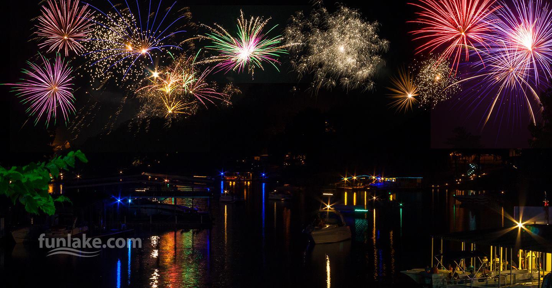 Lake of the Ozarks Fireworks