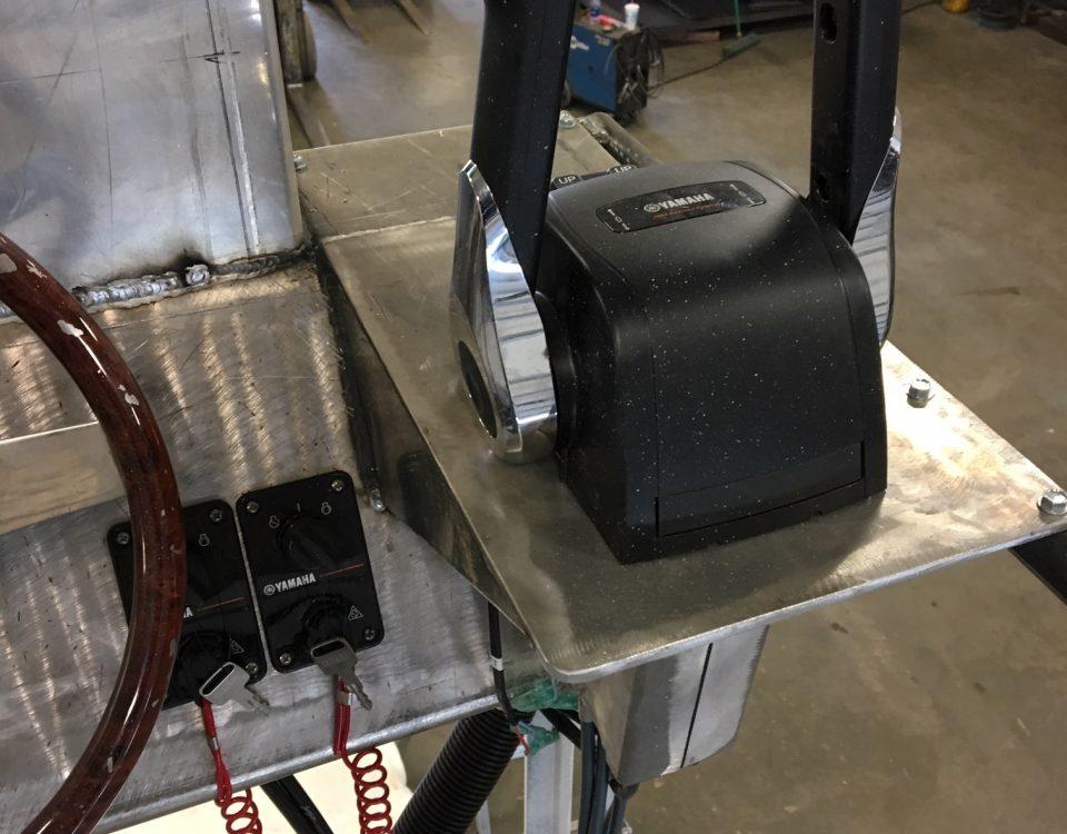 Flush Mount Dual Throttle Shift Controls